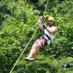 Swinging through the jungle