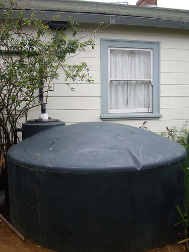 Water Storage Tank - Rainwater Harvesting