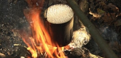 survival skills - boil water